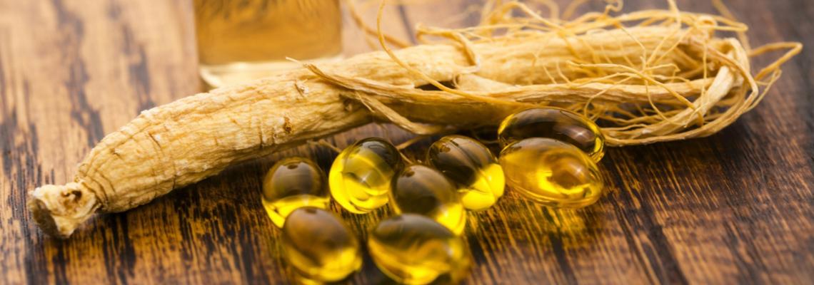 Compléments alimentaires à base de Ginseng